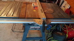Craft man table saw. for Sale in Sellersville, PA