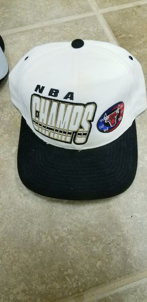 Chicago Bulls Champs 1997 NBA Hat Champions for Sale in Stigler, OK
