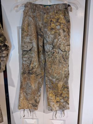 Cabela's Youth size 8 camo pants for Sale in Kenmore, WA