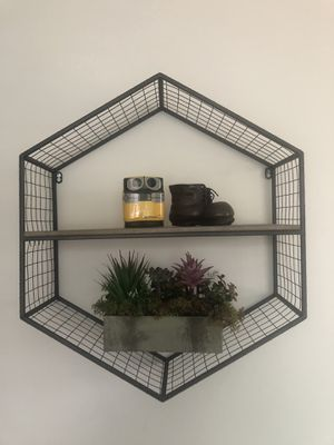 Hexagon wall shelf for Sale in Los Angeles, CA