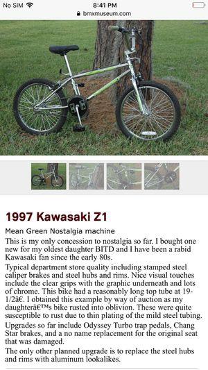 Bike Kawasaki bike verry rare almost extinct bike like the dinosaurs 🦖 for Sale in Los Angeles, CA