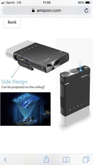 Mini projector for Sale in San Diego, CA