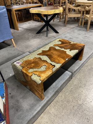 Wood & Resin Coffee Table for Sale in Vancouver, WA