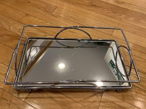 Mirrored vanity tray for Sale in Orient, OH