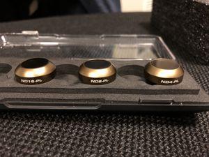 PolarPro cinema filters for mavic pro for Sale in Sudbury, MA
