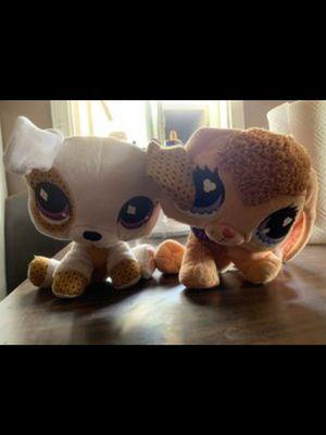 Littlest Pet Shop plushies for Sale in San Bernardino, CA