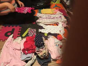 Baby clothes for girls many different sizes for Sale in Compton, CA