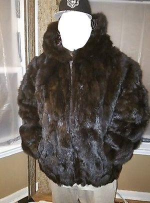 Real Rabbit Fur Jacket size 6XL for Sale for sale  Brooklyn, NY