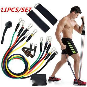 Resistance bands set -11 pieces for full body home workout for Sale in Irvine, CA