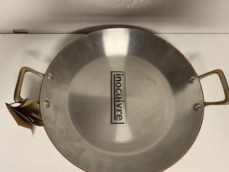 New DeBuyer Round Copper Pan for Sale in Los Angeles,  CA