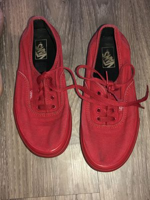 Red Vans for Sale in Little Rock, AR