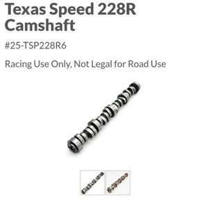 TexasSpeed Camshaft 228R for Sale in Brighton, CO
