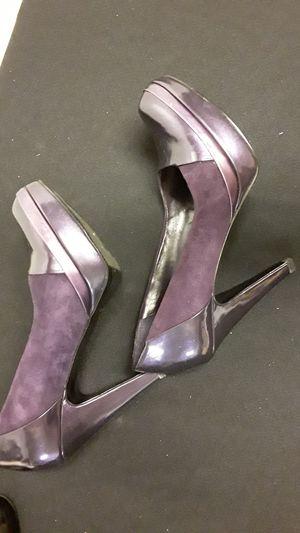 Purple Suede Heels Nine West for Sale in Windsor Hills, CA