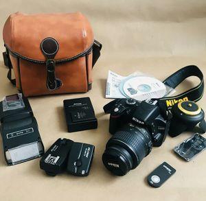 Nikon D3200 DSLR full set - perfect condition for Sale in Arlington, VA
