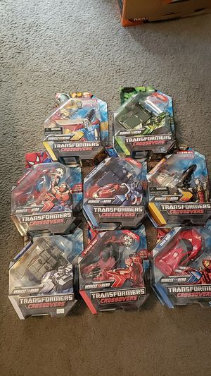 Marvel crossovers transformers for Sale in Rio Communities, NM