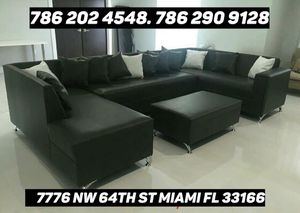 Furniture sectional couch brand new for sale for Sale in Miami, FL