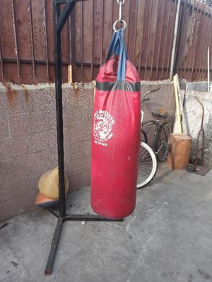 Punching Bag and Stand for Sale in Los Angeles, CA