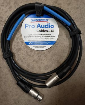 HEY NOW! SWEETWATER SWEET WATER PROCO PRO CO EXMSS-15 15 FOOT MICROPHONE MIC XLR BALANCED AUDIO CABLE PA PATCH for Sale in Phoenix, AZ