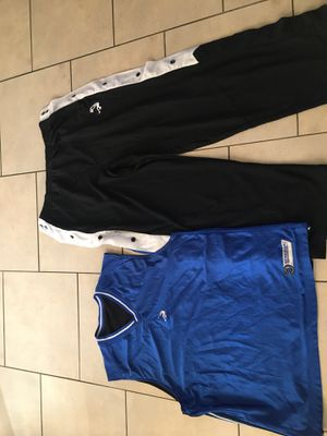 """SIZE XL """"DUNKMAN WARM UPS REVERSIBLE JERSEY"""" for Sale in North Las Vegas, NV"""