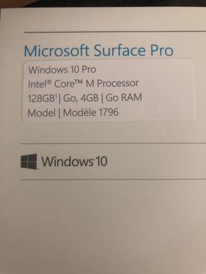 MUST GO TODAY Microsoft surface pro untouched for Sale in Miami, FL