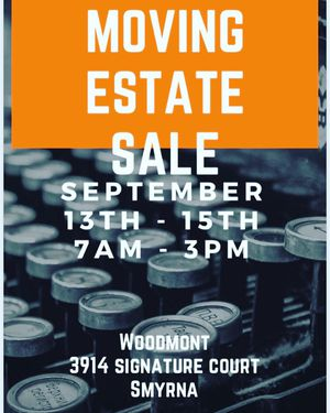 Estate Sale for Sale in Smyrna, TN