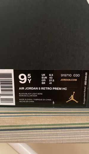Air Jordan Retro 5 HC (Camo) Size 9.5 $200 obo for Sale in Orlando, FL