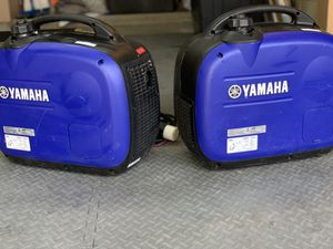 Yamaha EF2000iSv2, 1600 portable inverters. $1,150 for both. Paid $1600+ brand new for Sale in Thousand Oaks, CA