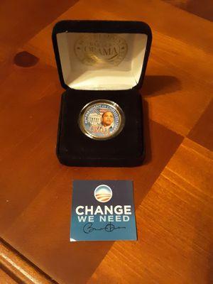 Obama presidential coin for Sale in Seaford, DE