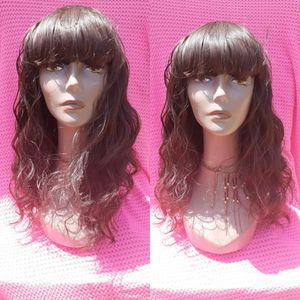 "14"" deep wave human blend hair wig for Sale in Havelock, NC"