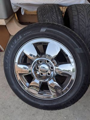 Rims and tires for Sale in Rialto, CA