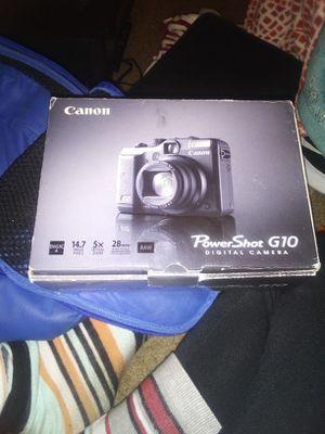 Canon Power Shot G10 Digital Camera Brand New in the Box. for Sale in Salt Lake City, UT
