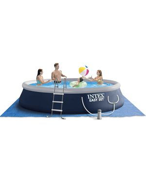 """Intex 15 ft x 42"""" easy set inflatable above ground swimming pool. New in box! Comes with ladder and pump. Retails $1,000. Asking $650 + sales tax for Sale in Woodstock, GA"""