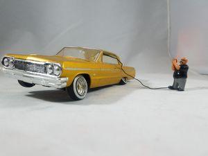 Custom painted 1964 Chevy Impala 1/24 Lowrider Model Kit 64 Lil Homie for Sale in Phoenix, AZ