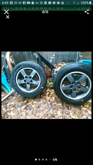 4 jeep Cherokee Laredo rims for Sale in Gaithersburg, MD