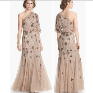 Adrianna Pappel One Shoulder Beaded Gown for Sale in Atlanta, GA