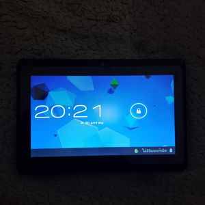 Black Android quad-core processor HD Dual Camera with Wi-Fi Tablet for Sale in Whittier, CA