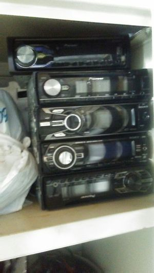 car radio pioneer and sony for Sale in Virginia Beach, VA