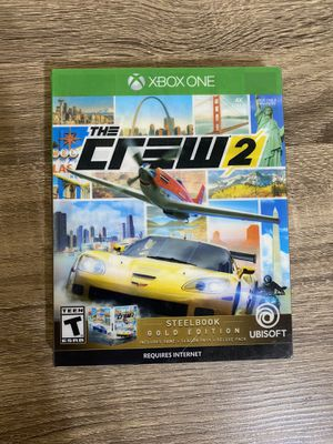 New The Crew 2 Gold Edition Xbox One for Sale in Port Washington, NY