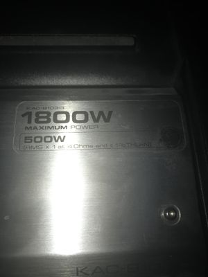Amplifier for speakers for Sale in Nashville, TN