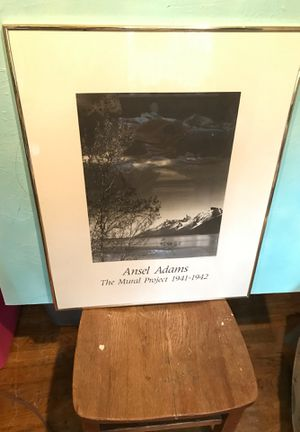 2 Ansel Adams Framed Prints 20x30 for Sale in Fort Pierce, FL