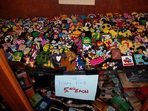 Disney pins mega restock 5.00 each for Sale in Modesto, CA