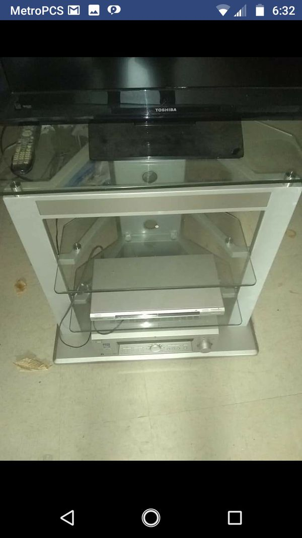 Tv,DVD player, stand