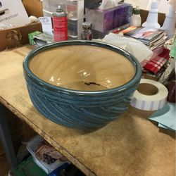 "Blue 14"" Planter for Sale in Walled Lake,  MI"