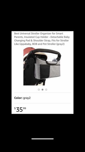 Stroller organizer w changing mat for Sale in Monrovia, CA