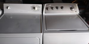 GE Dryer and whirlpool washer for Sale in Rochester, WA