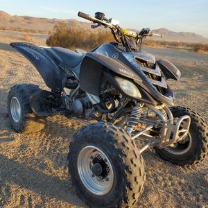2005 Yamaha Raptor 660 Special Edition $$$$$ Firm $4500 $$$$$$ NO TRADES Brand new clutch plates, Fresh oil and Oil filter, and Air filter New Tag for Sale in Pomona, CA