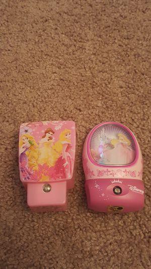 Disney Princess Night Lights for Sale in Reynoldsburg, OH