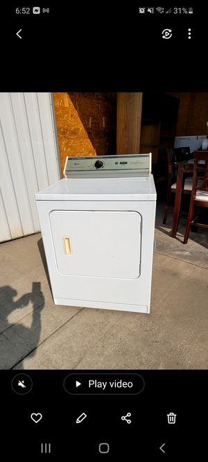 Whirlpool dryer 3 prong plug for Sale in Fresno, CA
