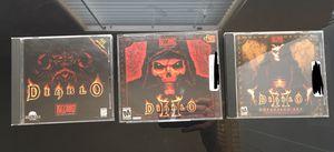Diablo PC Bundle Pack for Sale in Mesa, AZ
