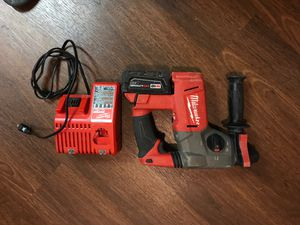 Milwaukee fuel rotatory hammer drill m18 for Sale in Chicago, IL